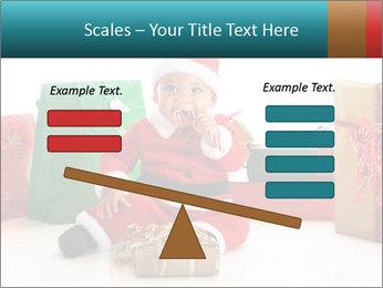 Baby Santa PowerPoint Template - Slide 89
