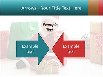 Baby Santa PowerPoint Template - Slide 90