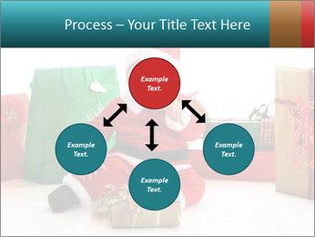 Baby Santa PowerPoint Template - Slide 91