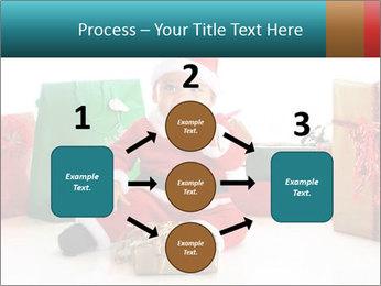 Baby Santa PowerPoint Template - Slide 92