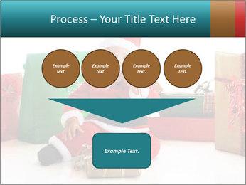 Baby Santa PowerPoint Template - Slide 93