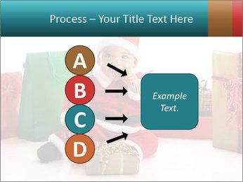 Baby Santa PowerPoint Template - Slide 94