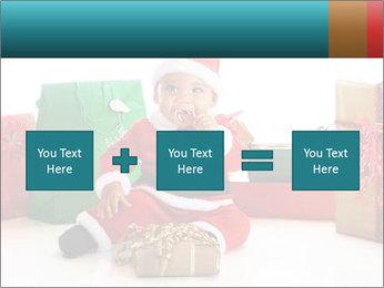 Baby Santa PowerPoint Template - Slide 95