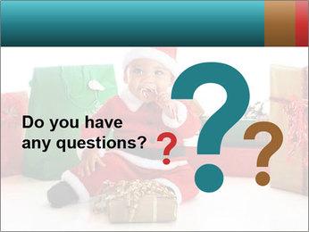 Baby Santa PowerPoint Template - Slide 96