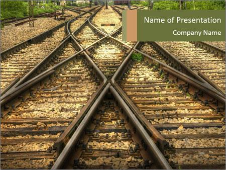 Railway PowerPoint Template