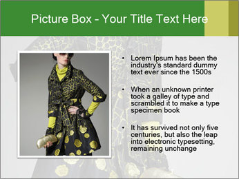 Fashion model PowerPoint Template - Slide 13