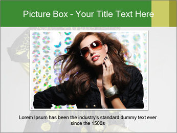 Fashion model PowerPoint Template - Slide 15