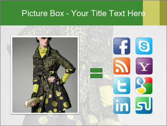 Fashion model PowerPoint Template - Slide 21