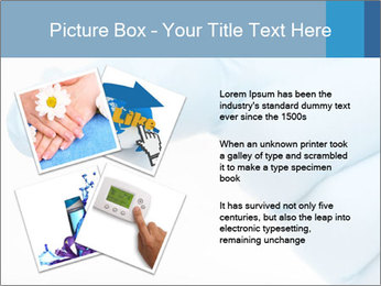 A gloved hand PowerPoint Template - Slide 23