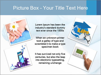 A gloved hand PowerPoint Template - Slide 24