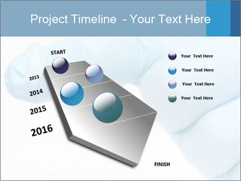 A gloved hand PowerPoint Template - Slide 26