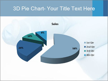 A gloved hand PowerPoint Template - Slide 35