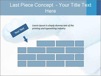 A gloved hand PowerPoint Template - Slide 46
