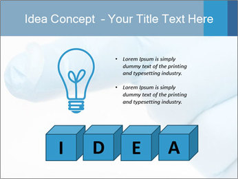 A gloved hand PowerPoint Template - Slide 80