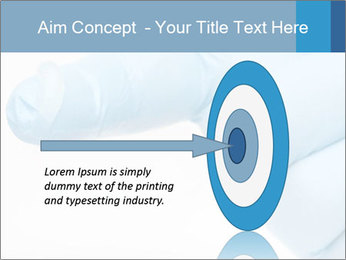 A gloved hand PowerPoint Template - Slide 83