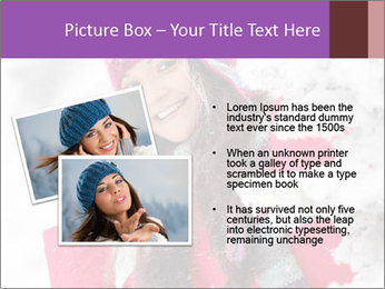 Winter woman PowerPoint Template - Slide 20