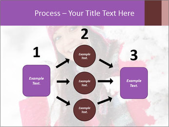 Winter woman PowerPoint Template - Slide 92