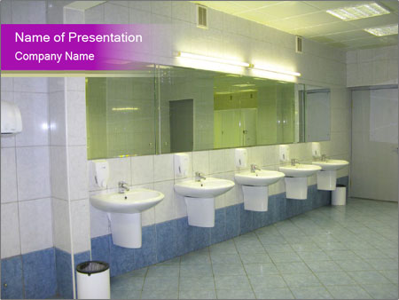 Public comfort zone PowerPoint Template