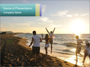 Young people PowerPoint Template