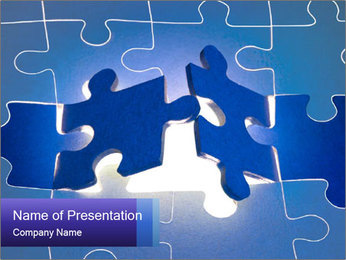 Puzzles PowerPoint Template