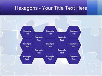 Puzzles PowerPoint Template - Slide 44