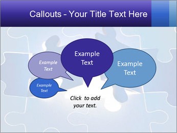 Puzzles PowerPoint Template - Slide 73