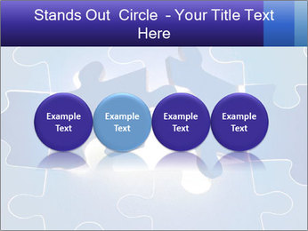 Puzzles PowerPoint Templates - Slide 76