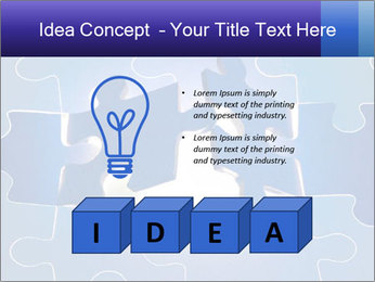 Puzzles PowerPoint Templates - Slide 80