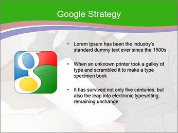 Man reading PowerPoint Templates - Slide 10