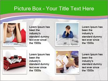 Man reading PowerPoint Templates - Slide 14