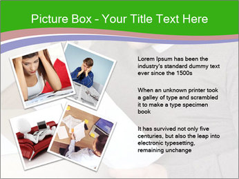 Man reading PowerPoint Template - Slide 23