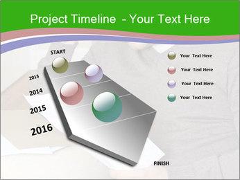 Man reading PowerPoint Templates - Slide 26