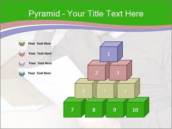 Man reading PowerPoint Templates - Slide 31