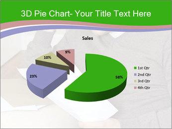 Man reading PowerPoint Templates - Slide 35