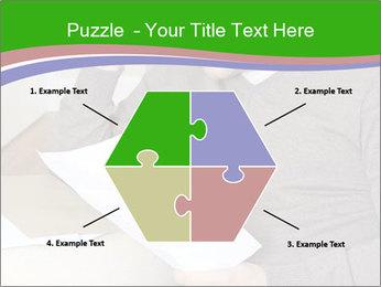 Man reading PowerPoint Templates - Slide 40