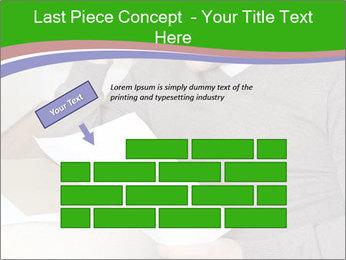 Man reading PowerPoint Templates - Slide 46