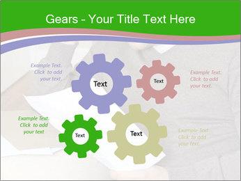 Man reading PowerPoint Templates - Slide 47