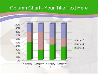 Man reading PowerPoint Templates - Slide 50