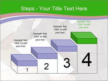Man reading PowerPoint Templates - Slide 64