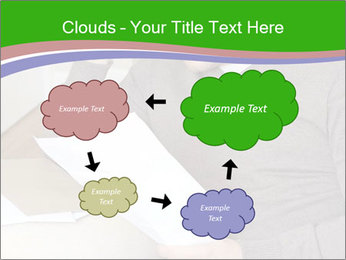 Man reading PowerPoint Templates - Slide 72