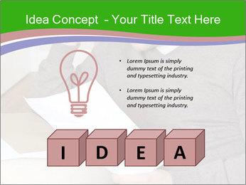 Man reading PowerPoint Templates - Slide 80