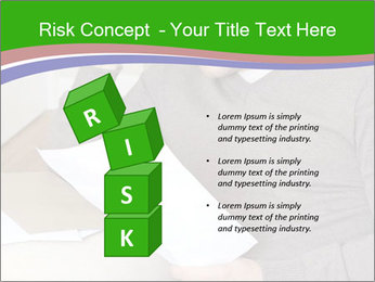 Man reading PowerPoint Template - Slide 81