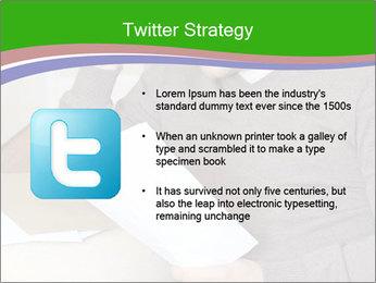 Man reading PowerPoint Templates - Slide 9
