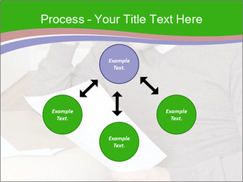 Man reading PowerPoint Template - Slide 91