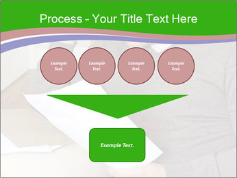Man reading PowerPoint Template - Slide 93