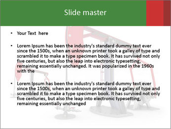 Pump jacks PowerPoint Template - Slide 2