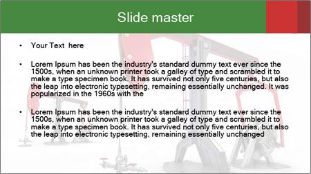 Pump jacks PowerPoint Template - Slide 2