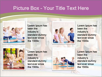 Fitness club PowerPoint Templates - Slide 14