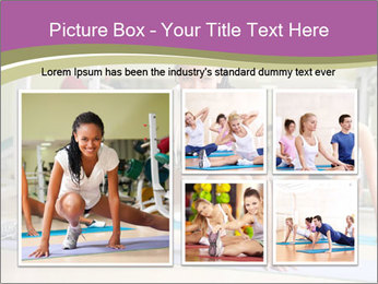 Fitness club PowerPoint Templates - Slide 19