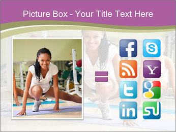 Fitness club PowerPoint Templates - Slide 21